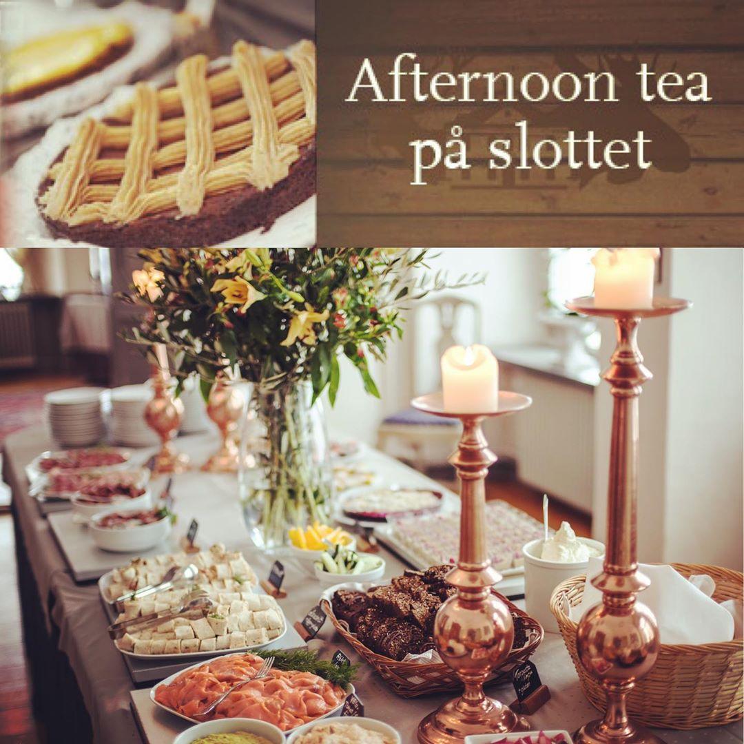 Klassisk tebjudning i genuin slottsmiljö, söndagar 8/9-3/11. Boka in erat höstmys nu på tfn 0155-24 62 28 ? #ostermalma #slott #afternoontea