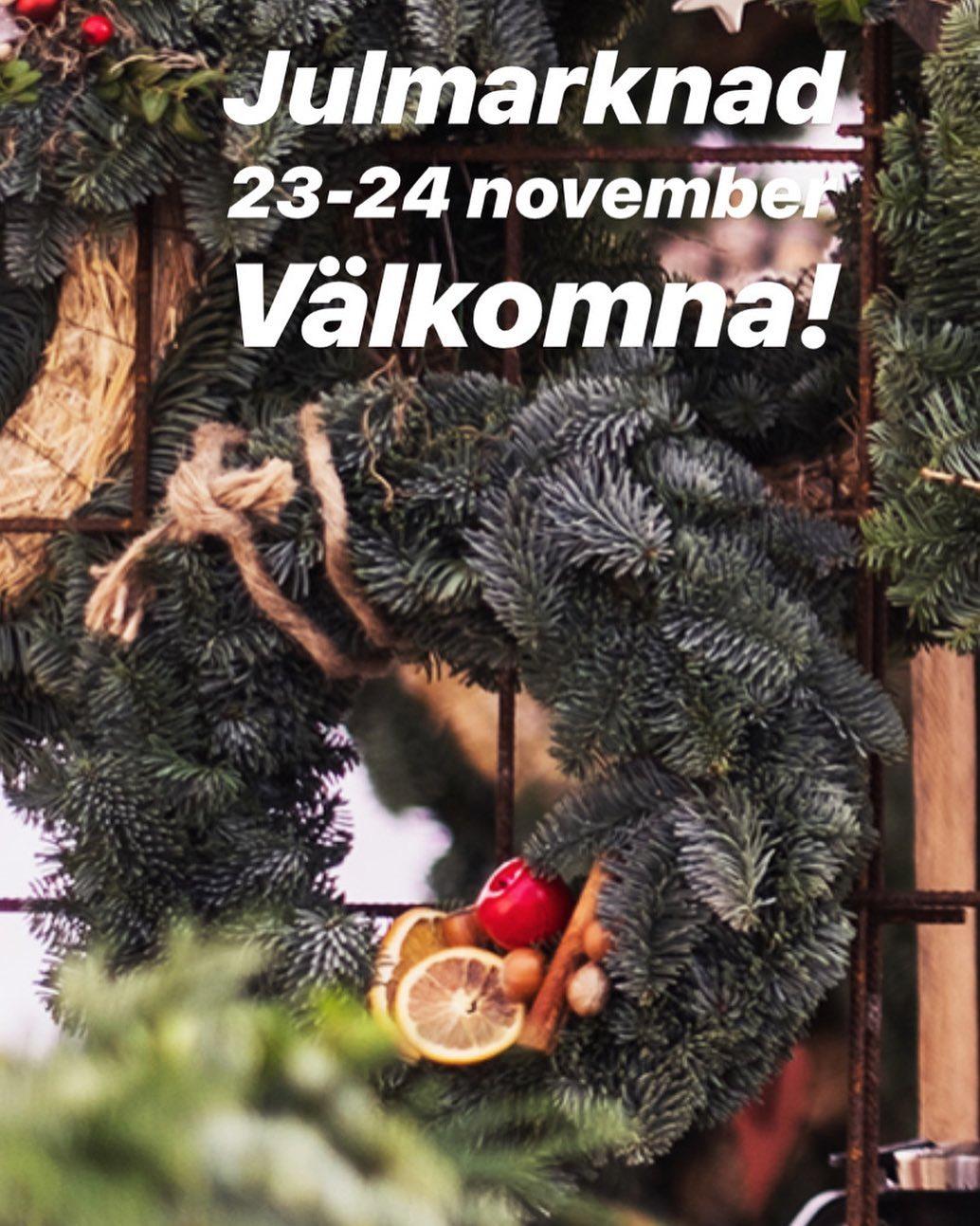 Ni kommer väl?!🎅🏻#östermalma #jul #julmarknad #vilt #viltkött